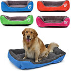 Dog Cat Bed Kennel Puppy Cushion Mat Soft Warm Waterproof Pet House S/M/L