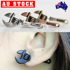 Cool Alloy Spanner Gothic Piercing Earring Goth Punk Ear Stud