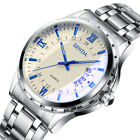 Luxury Mens Quartz Analog Wrist Watches Waterproof Stainless Steel Date Watch