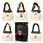 Officially Licensed Clearly Stadium Clear Zip Tote Zipper Close Bag $14.95 USD on eBay