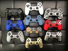 dualshock 4 controller blue - AUTHENTIC Sony PlayStation 4 PS4 Dualshock 4 Wireless Controller Jet Black