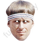 11 Different Tennis Celebrity Card Masks Fully Cut - Elastic and Sticky Tabs