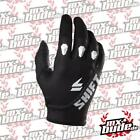 Shift  Motocross Handschuhe - Assault Race Schwarz Motocross Enduro MX Cross