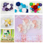 1PC Paper Flower Backdrop Wall 20cm Giant Flowers DIY Wedding Party Stage Decor