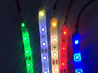5m Ultra-thin 300 LED (3528) 12V Flex Strip Light +Female DC connector-5 Colours