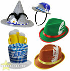 BAVARIAN PACK OF 5 OKTOBERFEST THEMED QUALITY HATS GERMAN BEER FESTIVAL COSTUME