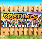 COSTUMES HALLOWEEN Advertising Vinyl Banner Flag Sign Many Sizes FALL FESTIVAL
