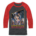 Star Wars Return of the Jedi Mens Graphic Baseball Tee $27.0 USD on eBay