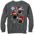 Lost Gods Pug Ugly Christmas Sweater Womens Graphic Sweatshirt