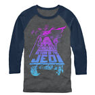 Star Wars Trilogy Mens Graphic Baseball Tee $27.0 USD