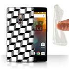 STUFF4 Gel/TPU Case/Cover for OnePlus 2/Two/Black Fashion