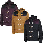 Mens Soulstar Welton Toggle Button Elbow/Shoulder Patch Padded Jacket Mens Size