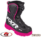 2018 FXR XCross Boa Boot Black/Fuchsia Women's Size 8 Snowmobile Boots