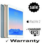 iPad Air 2 Retina Wifi / LTE 16GB 64GB 128GB A/B Grade Gold Silver Space Gray <br/> ✔ 1 Year Warranty ✔3 Day Mail ✔ AB Grade ✔ Charger