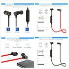 Red/Black HT9 Magnet Sports Headset Bluetooth Earphone Stereo Wireless Headphone