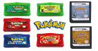 New Pokemon GBA DS Game US Version Reproduction Emerald Ruby Heart Gold