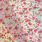 Ditsy Floral Pink Roses Flowers Polycotton Craft Fabric
