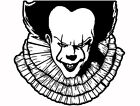 Pennywise the Dancing Clown sticker VINYL DECAL IT Stephen King Horror