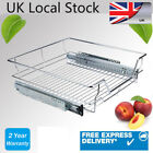 NEW PULL OUT WIRE BASKETS KITCHEN CABINET LARDER CUPBOARDS 350 400 500 600MM