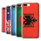 STUFF4 Gel/TPU Case/Cover for Apple iPhone 8 Plus/Flags