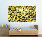 Personalised Glossy Kids Minions Poster  - Wall Decoration.- Brand New