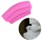 Silicone Ribbon Lace Cake Mold Chocolate Fondant Mould Cake Decor DIY Tools J