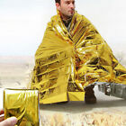 Waterproof Emergency Blanket Survival Mylar Thermal Heat Sleeping Bag Shelter