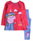Girls Peppa Pig Top Legging Set New Kids Pink Toddler Outfit 12 Months - 5 Years