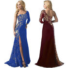 Womens Ladies Formal Ball Gown Long Dress Wedding Bridesmaid Cocktail Prom Dress