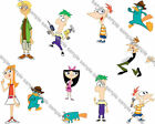 Phineas and Ferb 3 Iron On Transfer