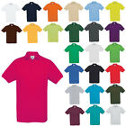 New B&C Mens Safran Classic Everyday Cotton Pique Polo Shirt in 29 Colours S-XXL