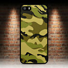 CAMOUFLAGE ARMY MILITARY PHONE CASE IPHONE 4 4S 5 5S SE 5C 6 6S 7 8 PLUS X