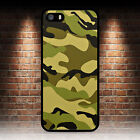 CAMOUFLAGE ARMY MILITARY PHONE CASE IPHONE 5 5S SE 5C 6 6S 7 8 PLUS X XR MAX 11