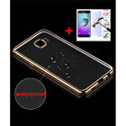 Luxury Thin Crystal Electroplate Soft TPU Slim Case Cover For Samsung Cell Phone