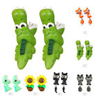1 Pair Handmade Polymer Clay Soft Cute Dinosaur Earrings Animal Stud Earring