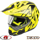 2018 FXR Torque X Core Snowmobile Helmet With Electric Shield Black/Hi-Vis LG