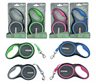 Heritage Deluxe Dog Lead Tape Retractable Extendable Leash 5M Pet Training 16FT