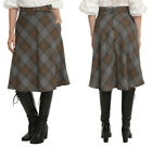 "NWT Hot Topic ""Outlander"" Claire Fraser Jamie Plaid Tartan Skirt Kilt - Medium"