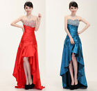 Stunning Long Ball Gown Party Prom Cocktail Wedding Girl's Evening Dress Y122#