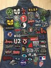 Rock Band Hipster DIY Iron Sew On Embroidered Patch For Vest Jacket Denim Cap