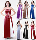 New Formal Prom Gown Bridesmaid dress Cocktail Party Evening Dress Size: 6 To 18