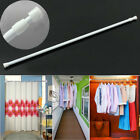 32-90CM Spring Extendable Telescopic Voile Tension Curtain Rail Loaded Pole Rod