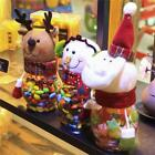 Snowman Christmas Santa Candy Filler Storage Bottle Xmas Party Decor Box Gift LD