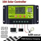 10A 20A 30A LCD Display Solar Panel Charge Controller Regulator with USB New MT