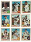 2017 TOPPS HERITAGE HIGH NUMBER SERIES - STARS, ROOKIE RC'S - WHO DO YOU NEED!!!