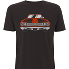 Red Car T-Shirt by HEROLUX  - Tattoo, Retro, Tribal, Rock N Roll, Rockabilly