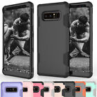 For Samsung Galaxy Note 8 Shockproof Rugged Heavy Duty Soft Rubber Case Cover
