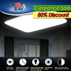 16W-96W LED Ceiling Light Fixtures Dimmable lamp Bedroom Living Room Lighting