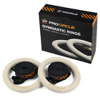 Procircle Wood Gymnastic Ring Olympic Strength Training Pull up Gym Fitness
