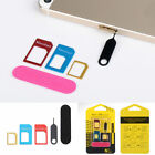 1 Set SIM Card Adapters Mobile Phone Card Transform Phones Accessories 2Styles